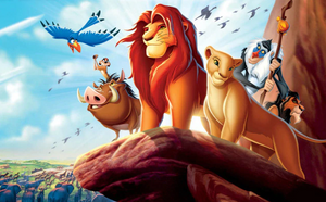 Lion King Full Round Diamond Painting - Kids Kit