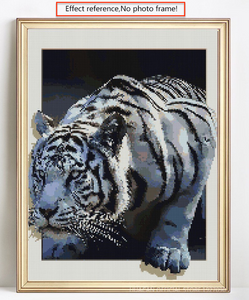 Tiger 5D Effect Full Square Drill Diamond Painting