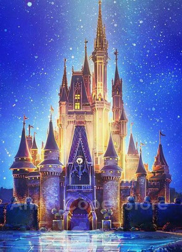 Disney Castle Dream Full Square Diamond Painting