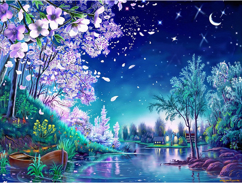 River View 5D Diamond Painting