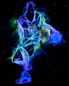Basketball in Black 3D Diamond Painting