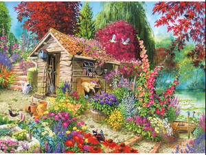 Kubo Garden Full Square Diamond Painting