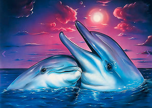 Happy Dolphin Diamond Painting