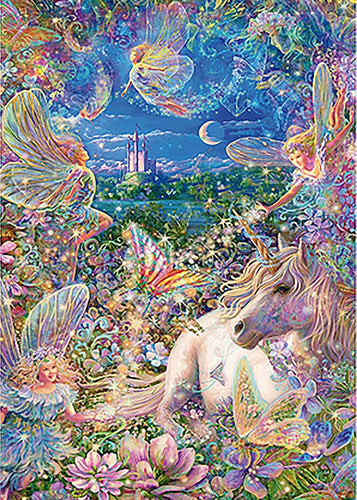 Fairies Unicorn Fantasy 3D Diamond Painting