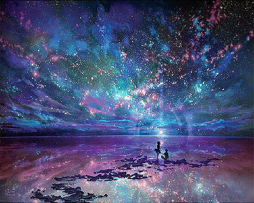 Fantasy Star Ocean 5D Diamond Painting
