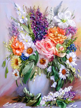 Floral Mixed Full Diamond Painting