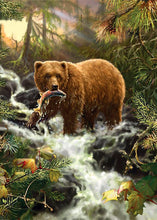 Forest Bear 5D Diamond Painting