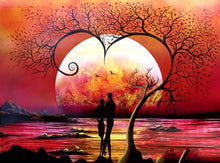 Sunset Lover Full Square Diamond Painting