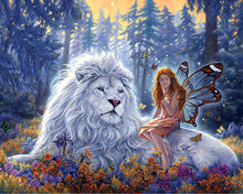 Angel and Lion 5D Diamond Painting