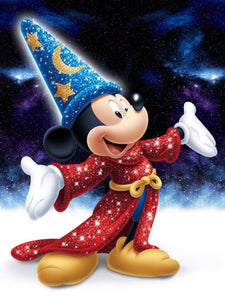 Disney Mickey Mouse 5D Rhinestone Diamond Painting