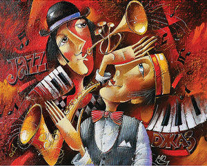 Music of Soul Jazz 5D Diamond Painting
