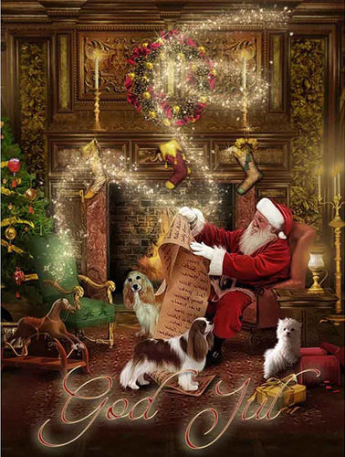 Music Santa Clause Diamond Painting
