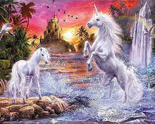 Unicorn Fantasy 5D Diamond Mosaic Diamond Painting