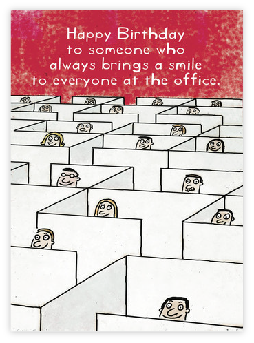 Bring smile to office