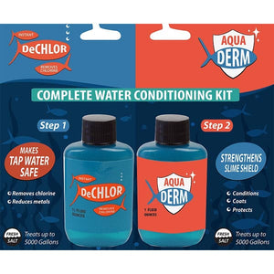 Aquaderm/De-Chlor Condtioner Kit