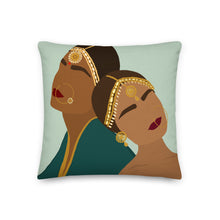 Caramel Kuris Throw Pillow