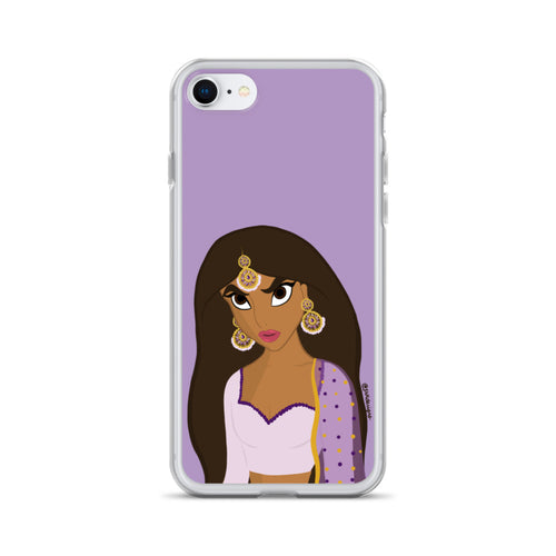 Angry Jasmine iPhone Case