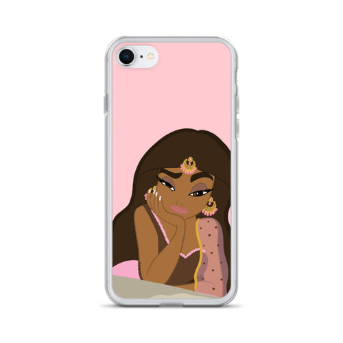 Confused Jasmine iPhone Case