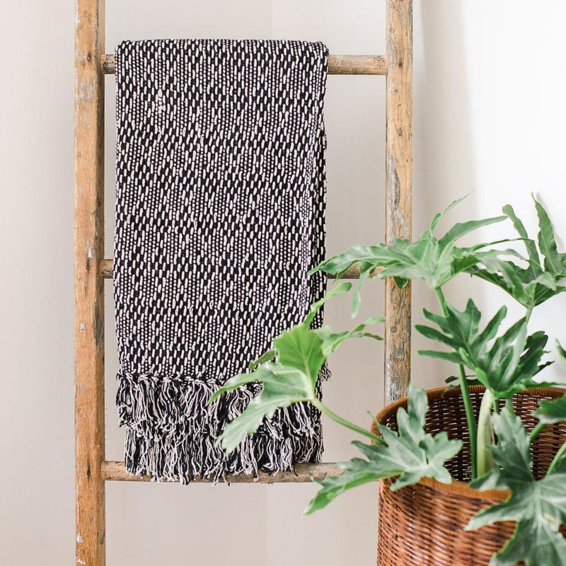 Black Diamond Rethread Throw