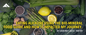 Eating alkaline using the bio-mineral food guide and how it impacted my journey.