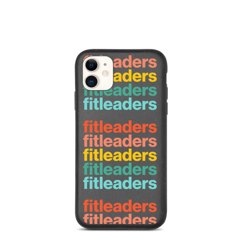 Good Vibrations biodegradable phone case by Fit Leaders - Fit Leaders
