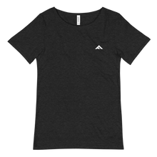 Fit Leaders Men's Logo Raw Neck Tee - Fit Leaders