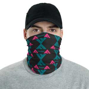 Fit Leaders Charcoal  3 in 1 Multifunctional Headwear - Face Mask, Headband, & Neck Gaiter - Fit Leaders