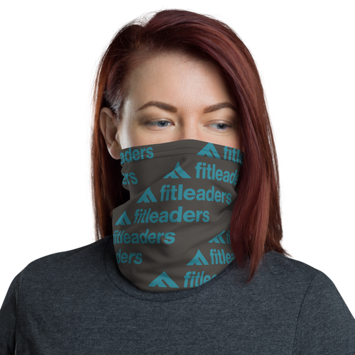 Fit Leaders Teal Neck Gaiter - Fit Leaders