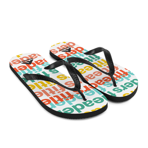 Good Vibrations Flip-Flops by Fit Leaders - Fit Leaders