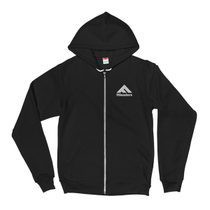 Fit Leaders - white logo hoodie - Fit Leaders
