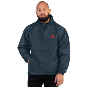 Fit Leaders Logo Embroidered Champion Packable Jacket - Fit Leaders