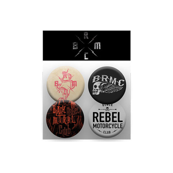 BRMC BADGE SET
