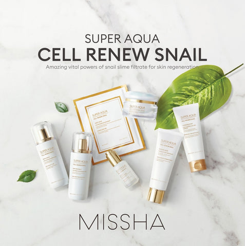 Super Aqua Cell Renew Snail Collection