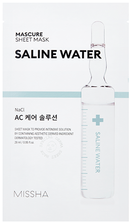 MISSHA Mascure AC Care Solution Sheet Mask (Saline Water) (28ml)