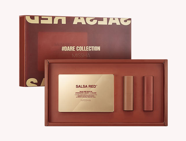 MISSHA Dare Collection (Salsa Red) (1 Set)