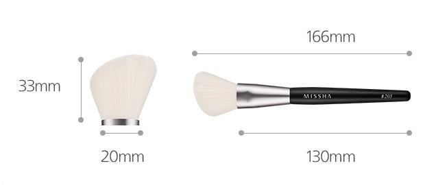 MISSHA Artistool Cheek & Shading Brush #203 (1P)