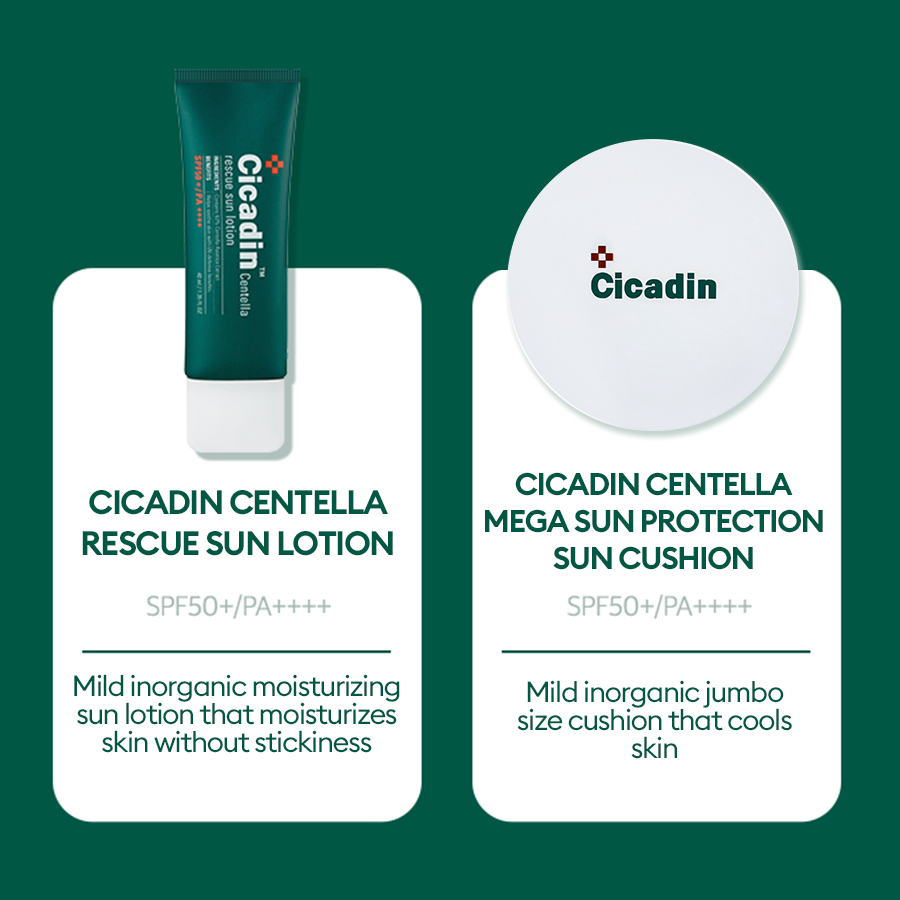 MISSHA Cicadin Centella Collection