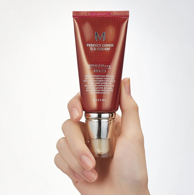 MISSHA M Perfect Cover BB Cream SPF42/PA+++ (No.23/Natural Beige) (50ml)