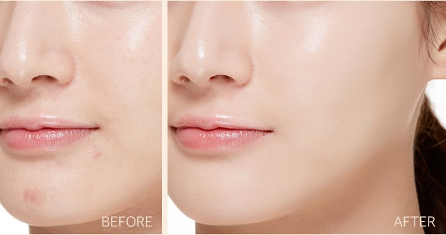 MISSHA Magic Cushion Cover Lasting Before and After