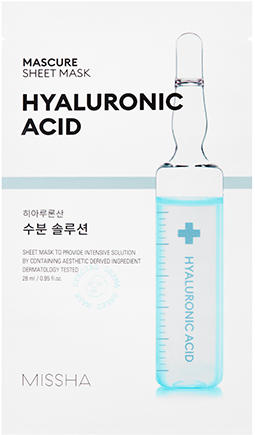 MISSHA Mascure Hydra Solution Sheet Mask (Hyaluronic Acid) (28ml)