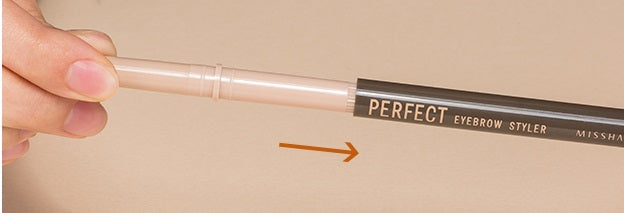 MISSHA Perfect Eyebrow Styler (Black) Replacement Direction