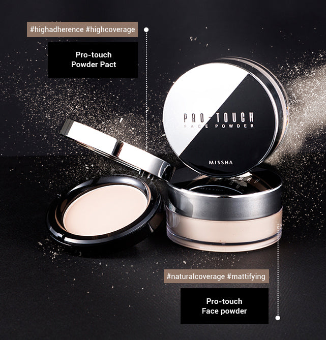 MISSHA Pro-Touch Face Powder Concept