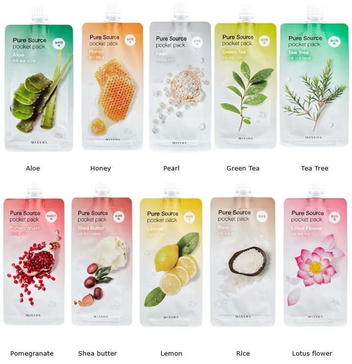MISSHA Pure Source Pocket Pack Collection
