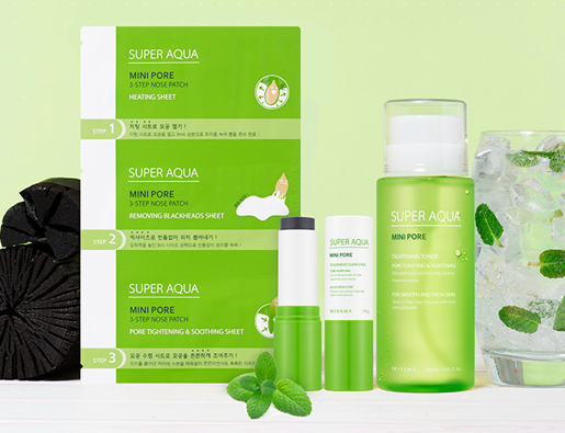 Super Aqua Mini Pore Range