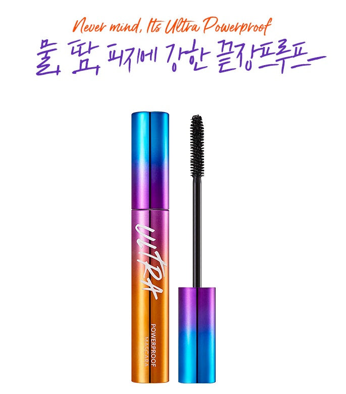 MISSHA Ultra Powerproof Mascara [Curling & Volumizing] (8g)