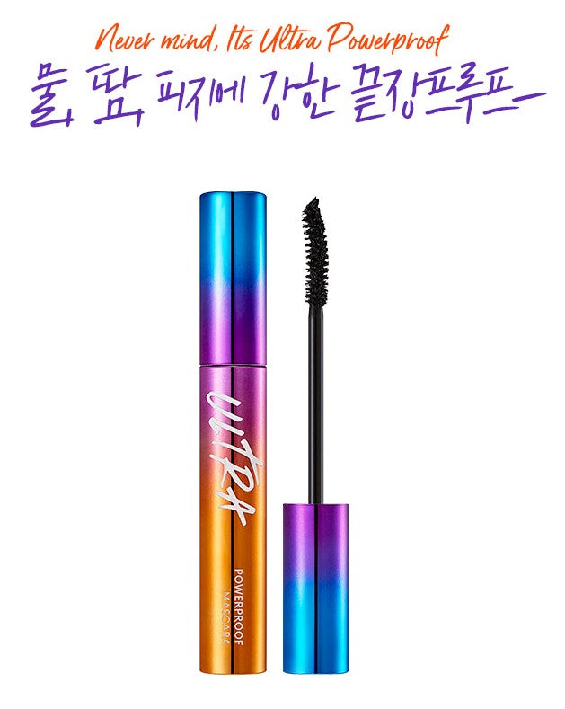 MISSHA Ultra Powerproof Mascara [Curling & Lengthening] (8g)