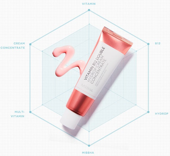 MISSHA Vitamin B12 Double Hydrop Ampouler Cream Concentrate
