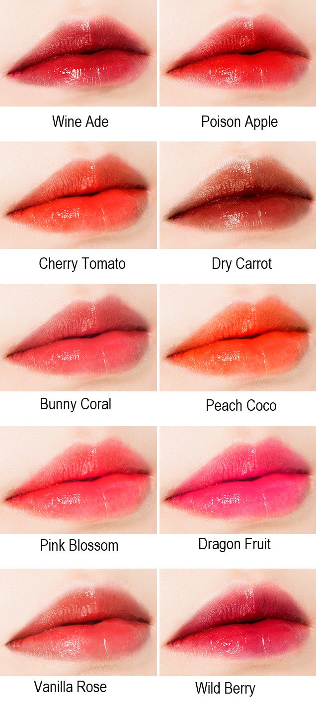 MISSHA Water Volume Tint Color Chart