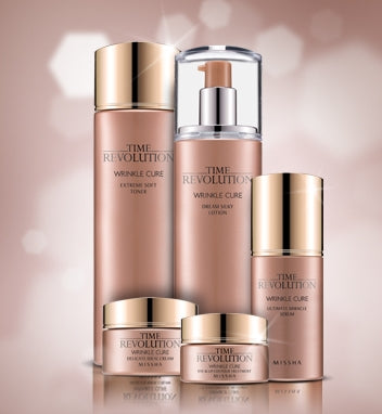MISSHA Time Revolution Wrinkle Cure Series