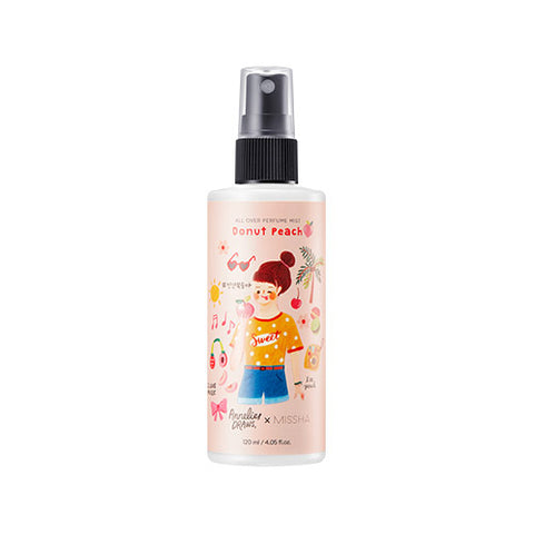 [Annelies Edition] MISSHA All Over Perfume Mist [Donut Peach] (120ml)